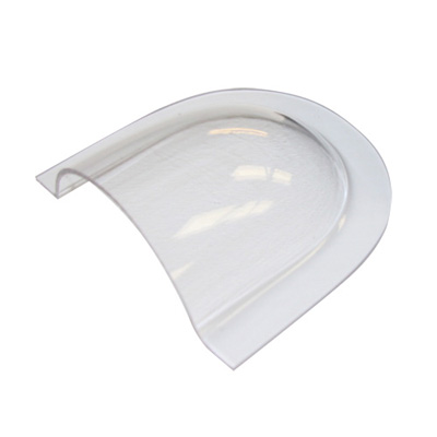 Air Scoop To Fit 76mm Opening In Clear